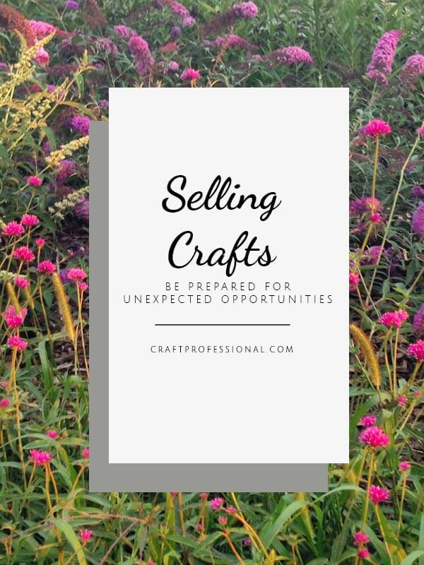Selling Your Crafts