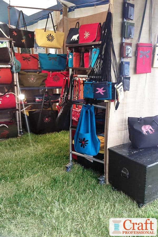 Tote Bag Display