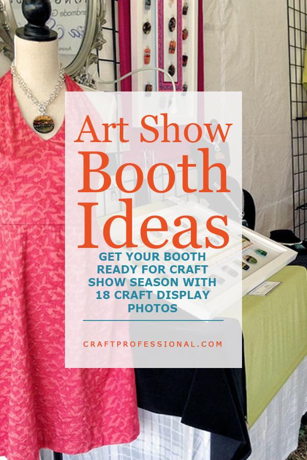 Art Show Booth Ideas