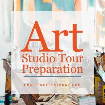 Art Studio Tour Preparation