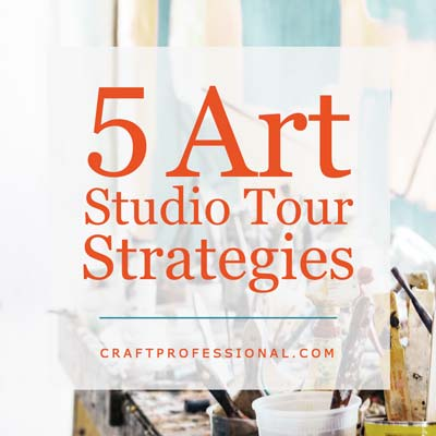 Art Studio Tour Strategies