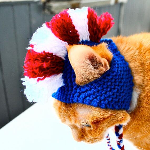 Cat mohawk knitting pattern