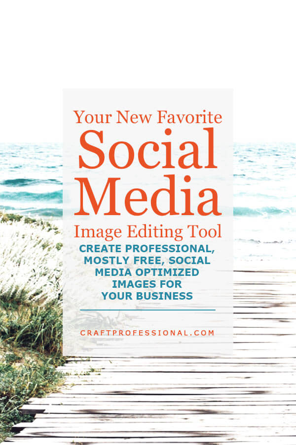 Your new favorite image editing tool for social media. Create professional, mostly free social media optimized images for your business.