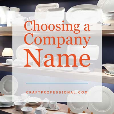 Choosing a Company Name