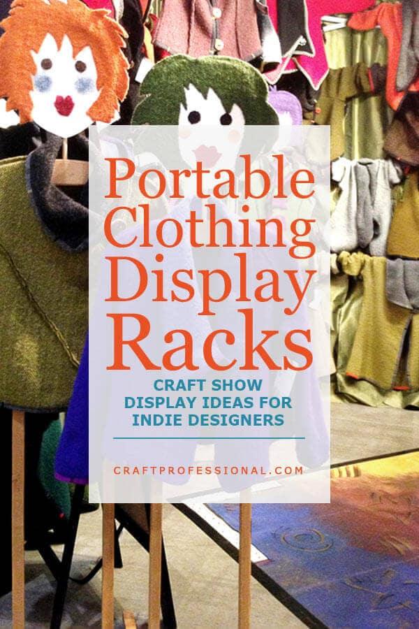 Portable Clothing Display Racks