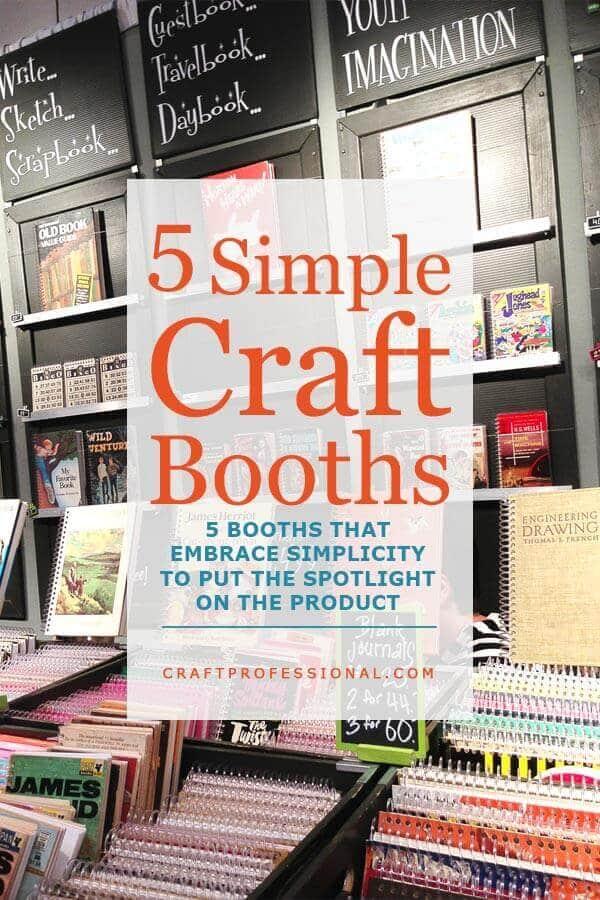 Simple Craft Booth Design