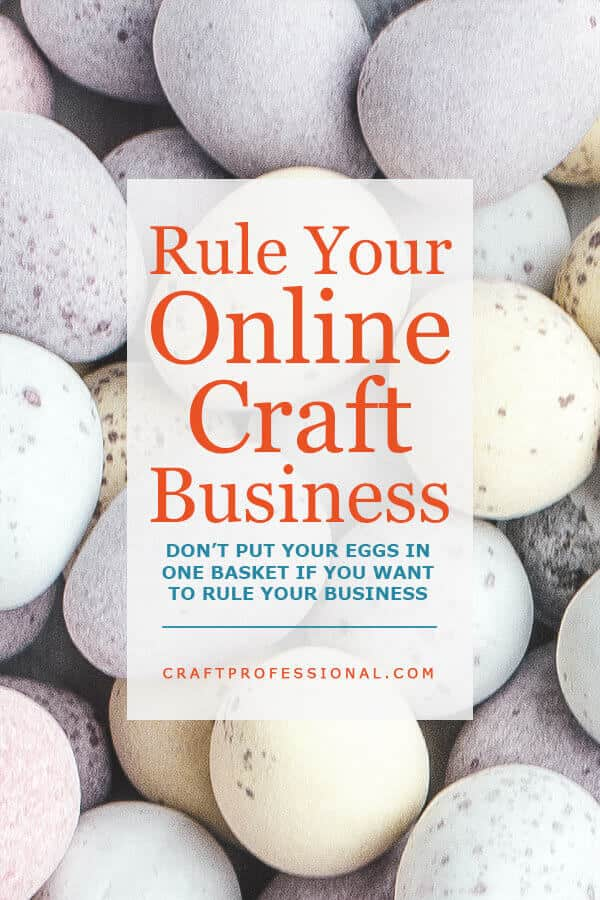 How to be in control of your online craft business