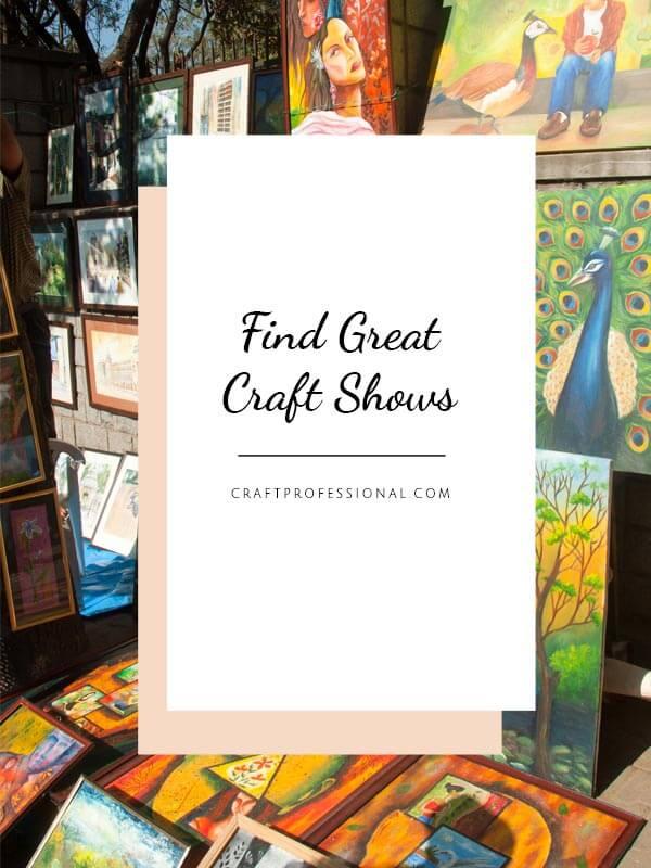 Find craft show directories