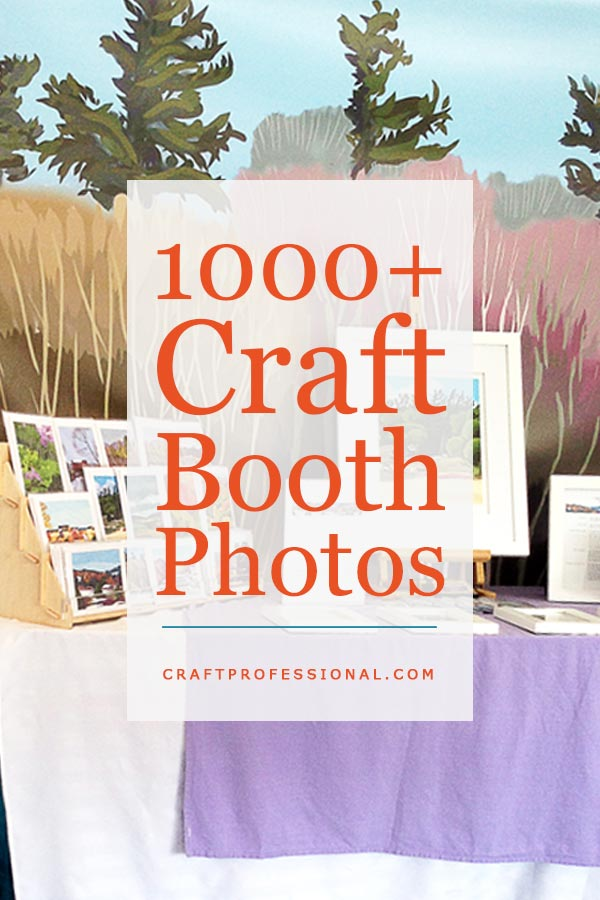 Craft Show Table Coverings