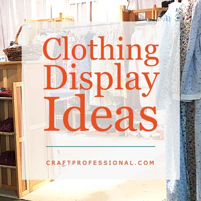 8 Clothing Display Photos