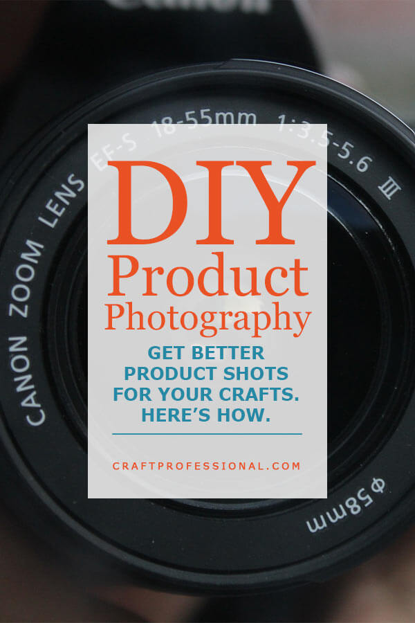 DIY Product Photography Tips - Text overlay