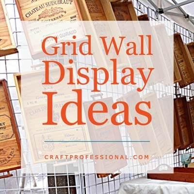 Gridwall Display Booth Photos