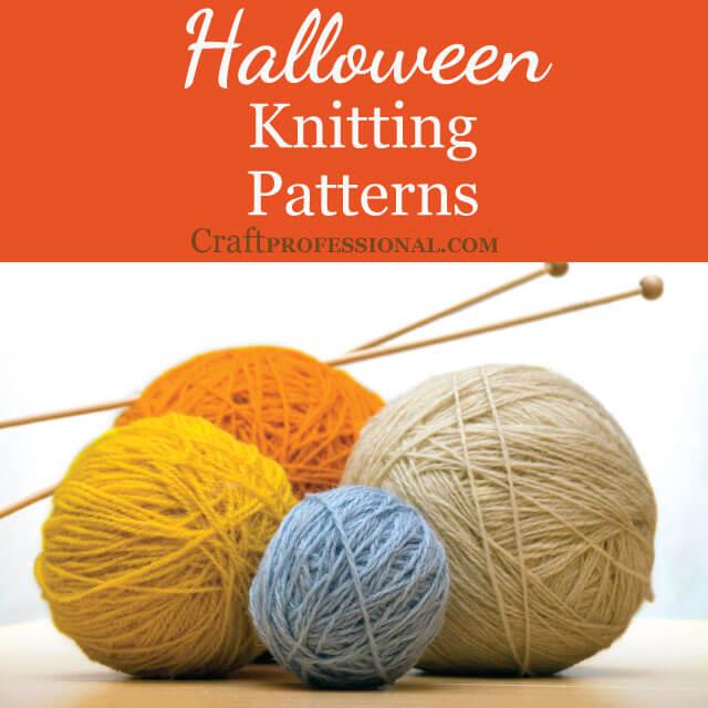 Halloween Knitting Patterns