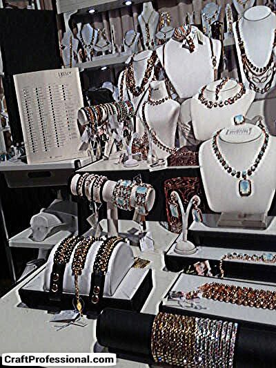 Handmade Jewelry Booth