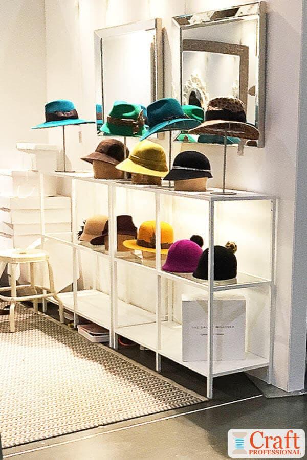 Hat Display Photos