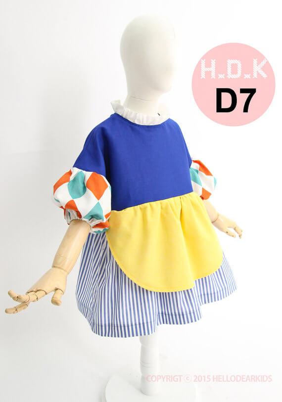 Red Ridinghood, Snow White, Alice in Wonderland costume pattern by Hello Dear Kids