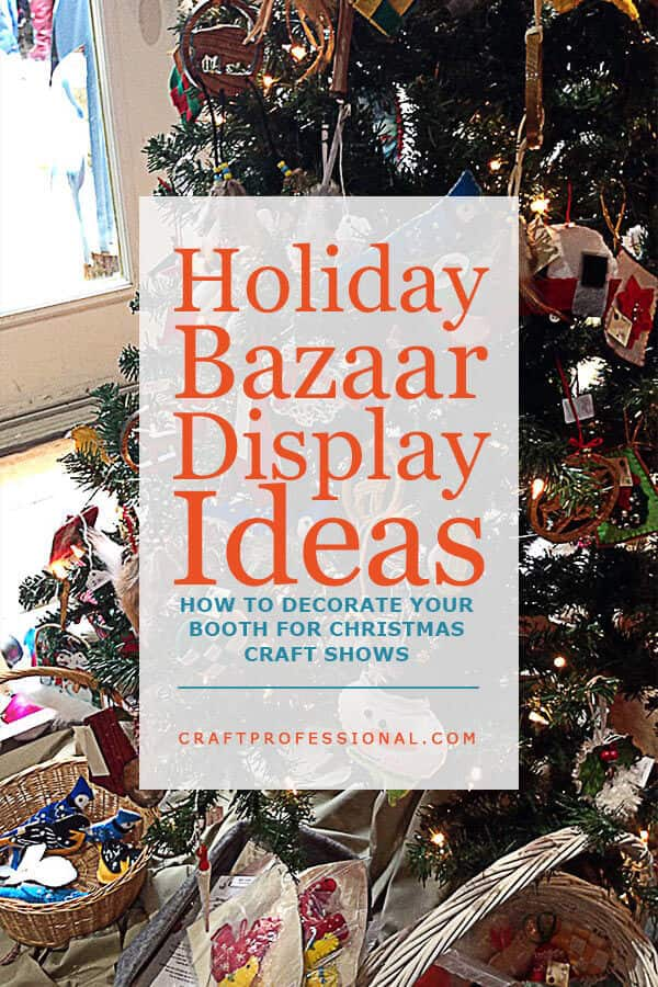 Lots of Christmas craft booth photos.