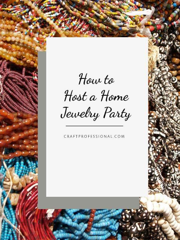 home jewelry party tips for hosting a successful sales party