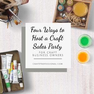 4 Craft Home Party Ideas