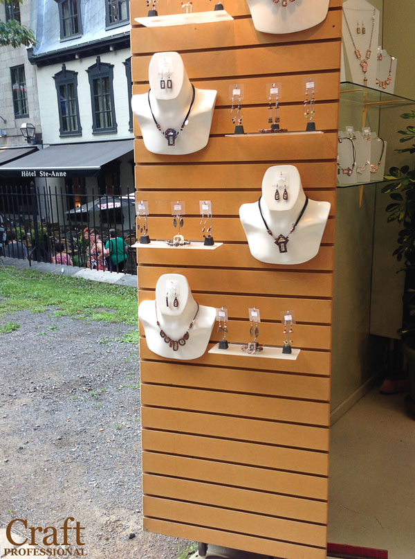 Jewelry Displays For Craft Fairs