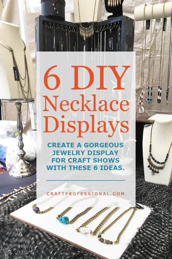 Necklace Displays For Your Jewelry Booth