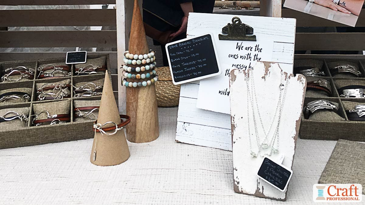 10 Necklace Stand Ideas For Your Jewelry Booth