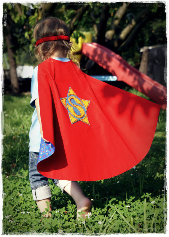 Super hero cape pattern by Oxeye Daisey
