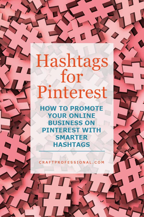 Text Overaly - Hashtags for Pinterest