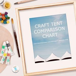 Craft Tent Comparison Chart