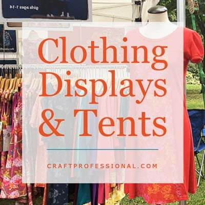 Clothing Display & Tents