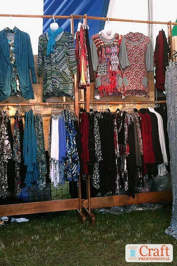 Upscale Clothing Display