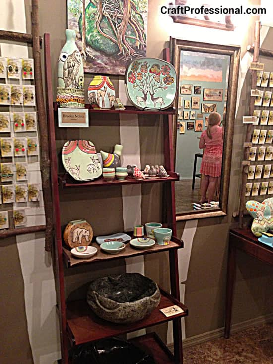 Retail store displays for craft booth ideas for Retail shop display ideas