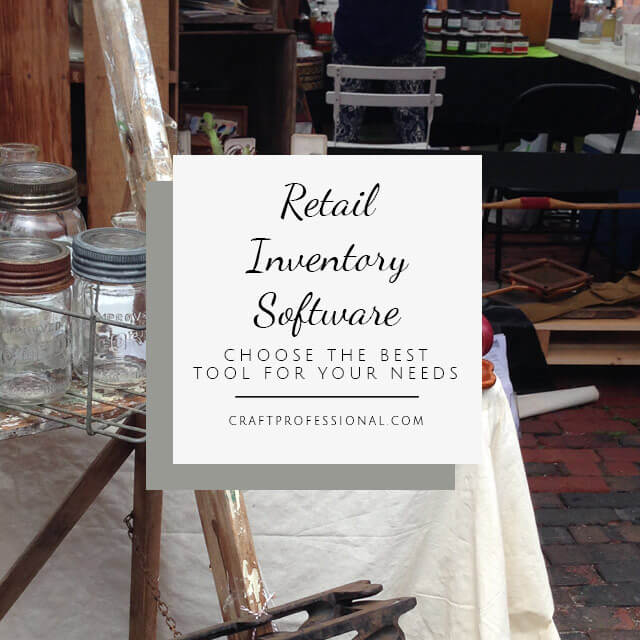 Retail inventory software for craft businesses