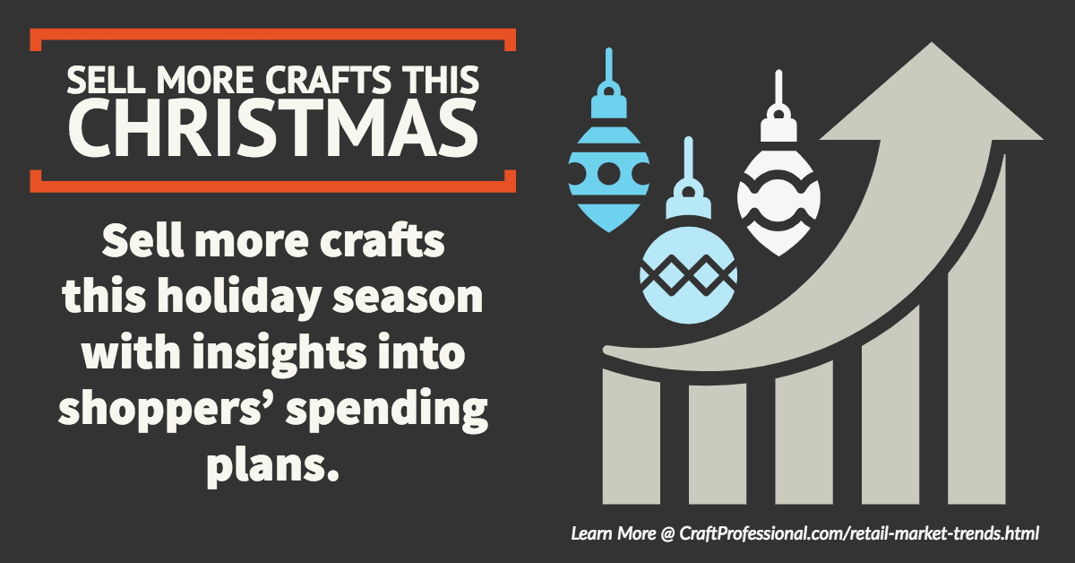 Sell more crafts this Christmas with insights into shoppers' spending plans