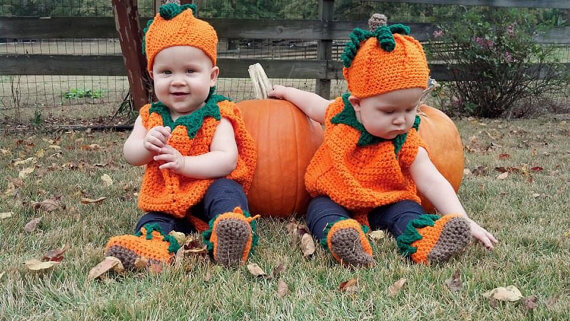 Pumpkin costume pattern by Sandy's Cape Cod Originals