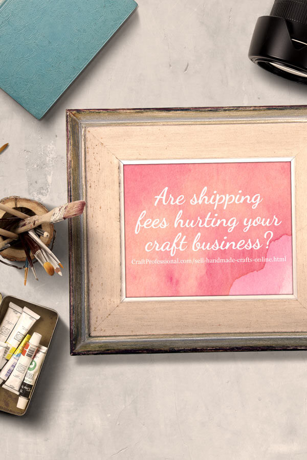 Sell handmade crafts online by lowering your shipping fees for Top selling handmade crafts