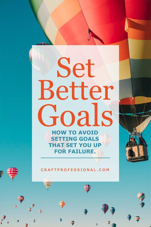 Setting effective business goals