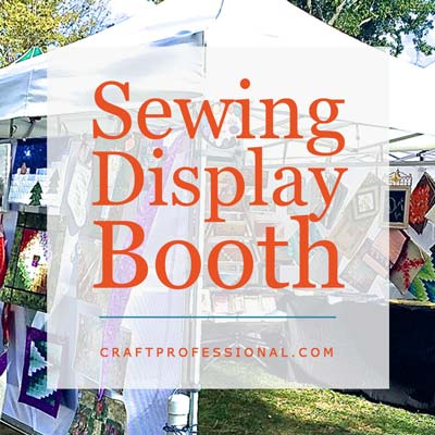 Sewing Booth Display