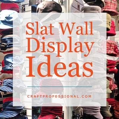 Slat Wall Display Ideas