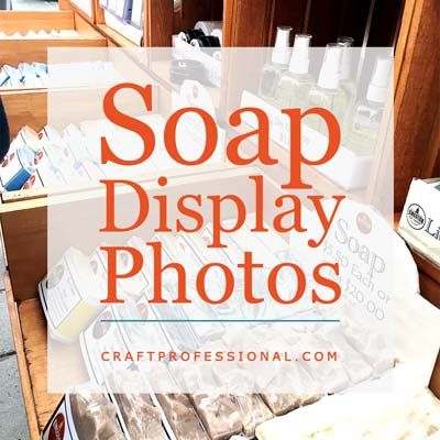 Soap and Jewelry Booth Displays