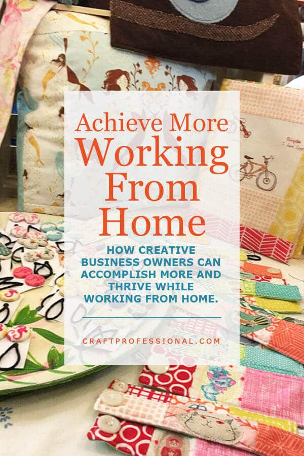Starting a business from home for creative entrepreneurs for Starting a small craft business from home