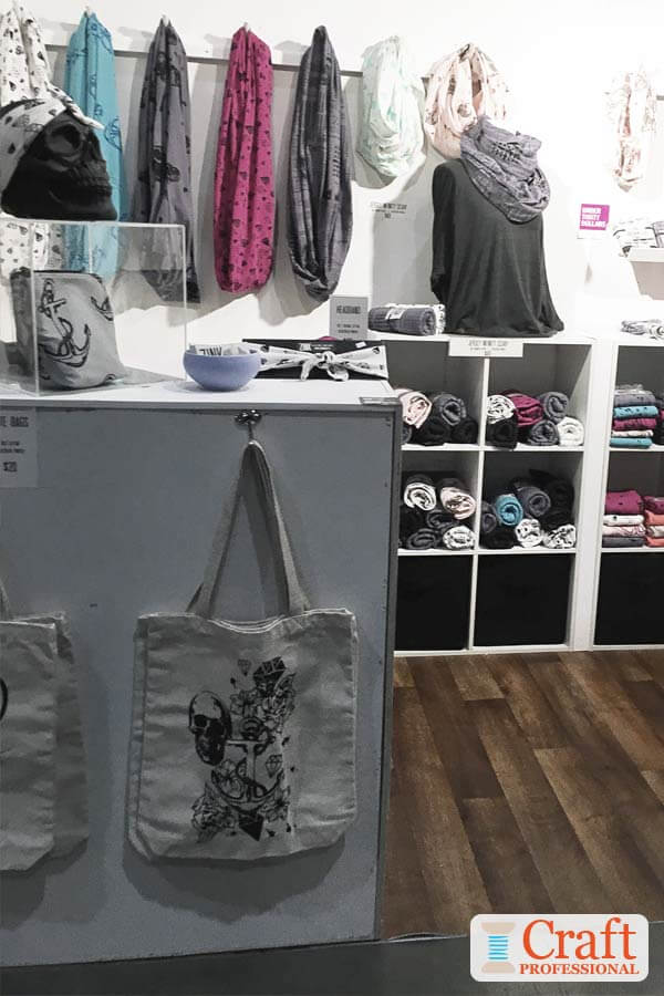 Tote Bag Display