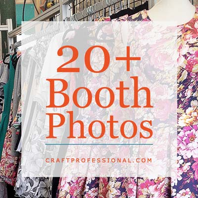 Handmade dresses with text overlay 20+ Booth Photos