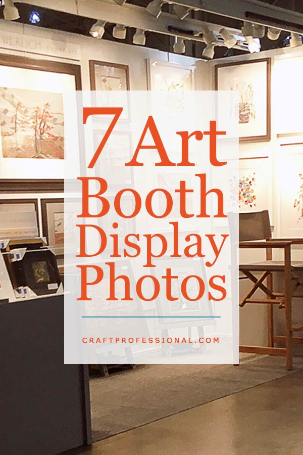 7 art booth display photos