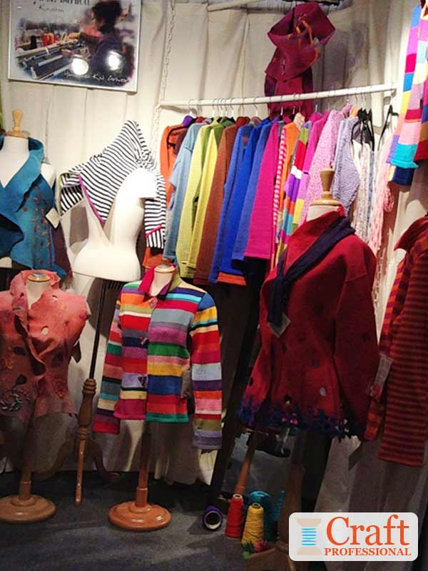 Colorful Clothing Display