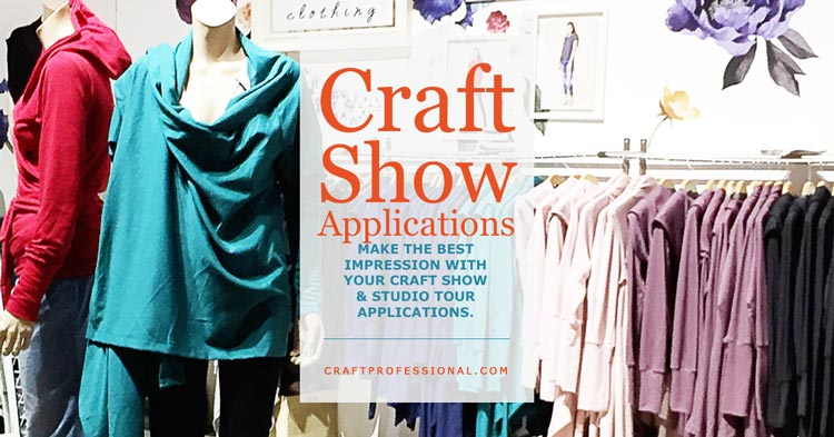 Craft Show Applications - Make the best impression with your craft show and studio tour applications.