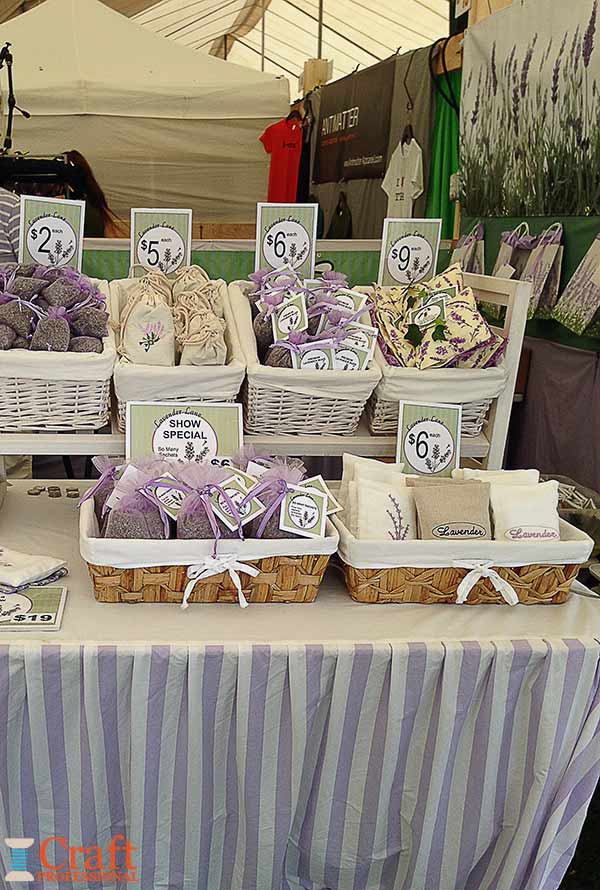 Handmade lavender products