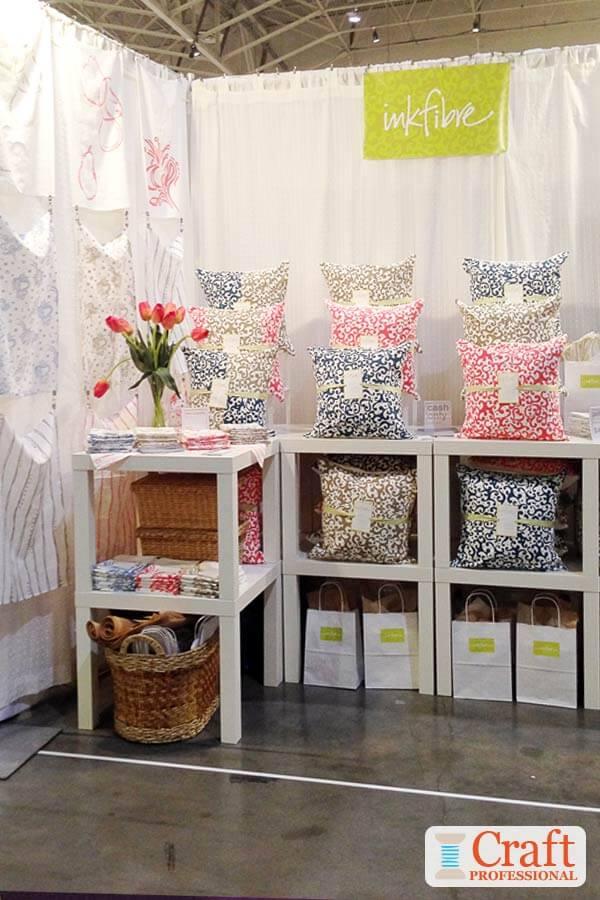 Handmade pillows and bunting
