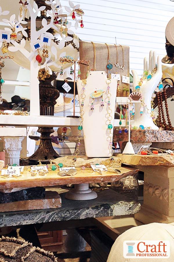 Jewelry Display Shelves