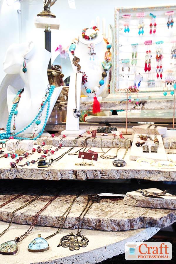 Casual Jewelry Display